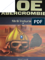 Joe Abercrombie - Prima Lege 2 Fara Indurare Vol 1.doc