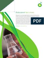 Bp Biobutanol Factsheet