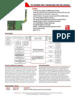 Trenton's PCI Express Gen2 7041 Backplane Pcie Slots  Datasheet
