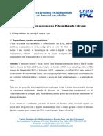 Resolução Final Cebrapaz Assembleia 2016