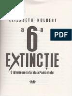 A 6-A Extinctie - Elizabeth Kolbert