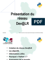 Presentation Journee Python