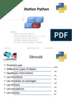 Python Initiation Devatlr