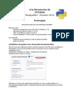 Python Prerequis v03