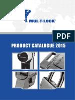 Mul-T-Lock Product Catalog 2015