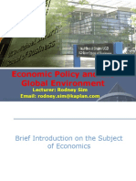 Topic 1 - GDP