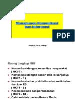 Teknik Survei MKI.ppk, MDGS - Susihar SKp MKep Pptx