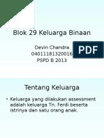 DC Blok 29 Keluarga Binaan Simplified