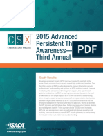 2015 Advanced Persistent Threat Awareness