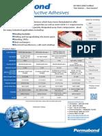 Permabond thermally Conductive Adhesives