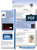 Permabond Adhesive for LED Lights