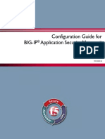 Configuring & Administrating BIG-IP F5 ASM v11