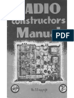 Radio Constructor Manual - Lewis 1945
