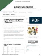 Verbos Irregulares en Inglés – En Presente, Pasado y Traducidos.pdf