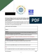 SCHUK011 Audit Questionaire 2015
