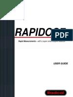 Rapidose User Manual