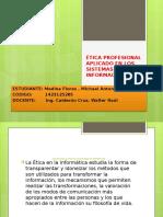 Ética Profesional Aplicado en Los Sistemas de Información