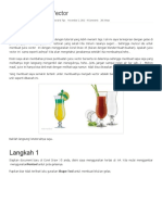 Membuat Juice Vector