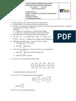 Algebra Lineal Segundo Parcial ejercicios varios