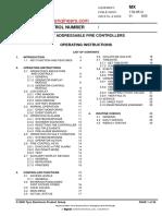MX Operating Manual