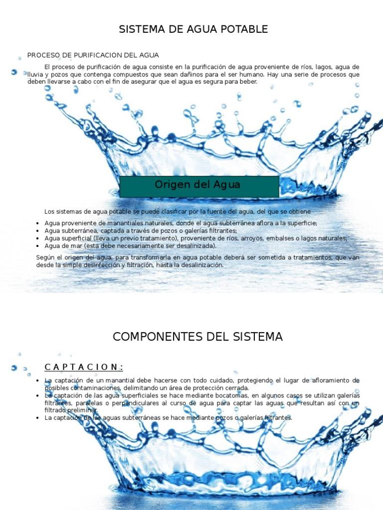 94ea5efd5b0 Proceso de Purificacion Del Agua