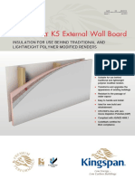 Kooltherm K5 External Wall Board