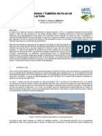 Diseño de Geomembrana y Tuberías de HDPE en Pilas de Lixiviación de Gran Altura