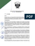 RESOLUCIÓN de DIRECCIÓN EJECUTIVA Nº 138-2016-SERFOR-De (Aprobar Los Lineamientos Para La Articulacion de Las Autoridades de Su Potestad Sancionadora)