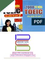 2000 Từ Vựng Toeic Cho Phần Part 7 - Vũ Mai Phương