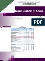 Bronquiolitis Asma
