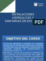1.- Instalaciones Hidráulicas y Sanitarias en Edificios