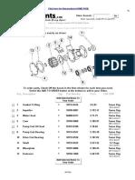 Parts for Jabsco Pump Model # 18770-0004