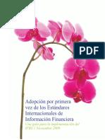 Adopcion 1a Vez IFRS (2009)