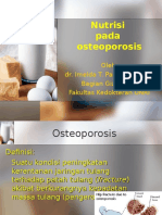 Nutrition on Osteoporosis..