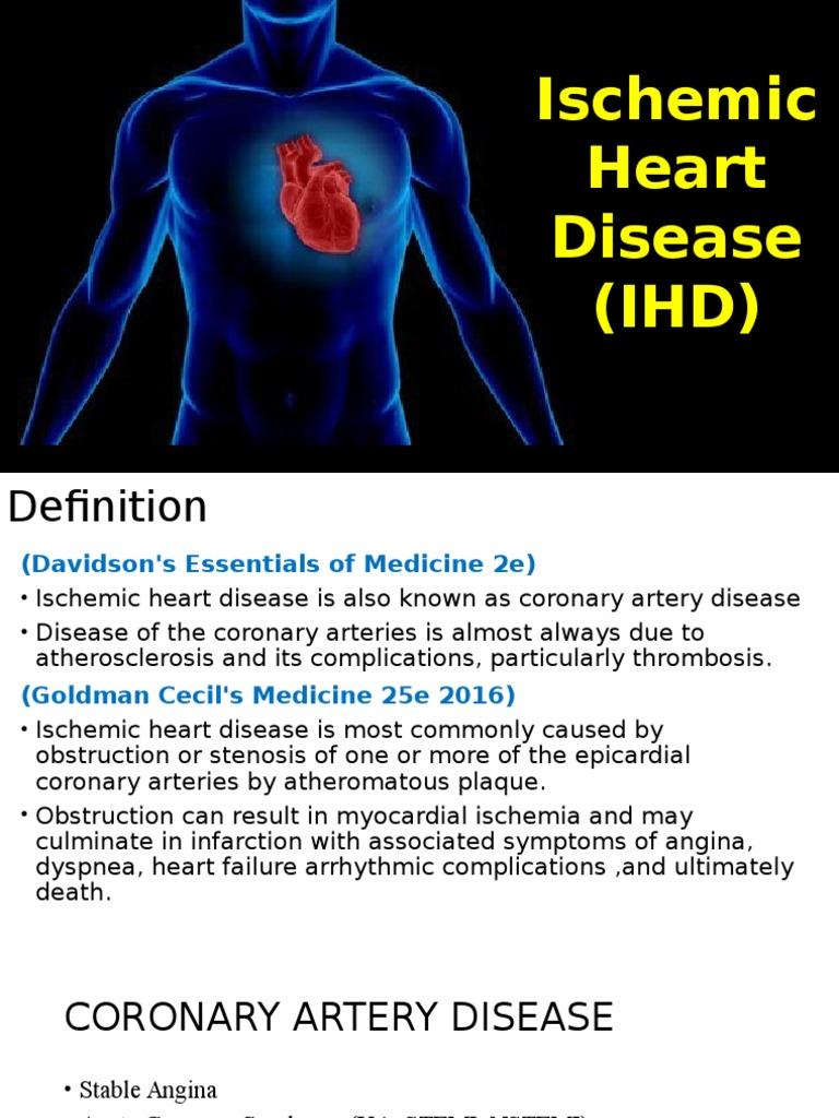 ischemic heart disease (ihd).pptx | coronary artery disease | angina