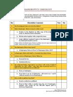 Bankruptcy Checklist.pdf