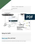 Setup UNIFI Mikrotik