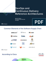 Reference Architectures - Continuous Delivery