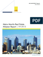 Philippine Real Estate 2013 Midyear Report