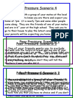 Peer Pressure Scenario Cards