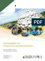 Annual Report 2015 Pt Dahana Persero