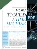 How to Build a Time Machine-Paul Davis--scientificamerican0902-50