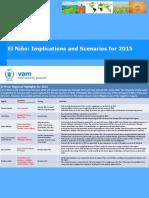 El Nino Forcast 2015