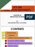 ECS 238 - Chapter 2c (Deflection of Beams)