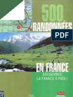 France Loisirs_500 Randonnees