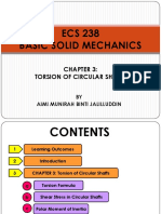 ECS 238 - Chapter 3 (Torsion of Circular Shaft)