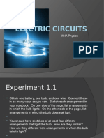 Electric Circuits PPT 1-2