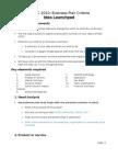 RYSEC 2010 - Judging Criteria (Idea Launchpad)(Updated 22.06.2010)