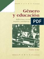 Acker Sandra - Genero Y Educacion