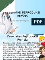 Ppt Kesehatan Reproduksi Remaja